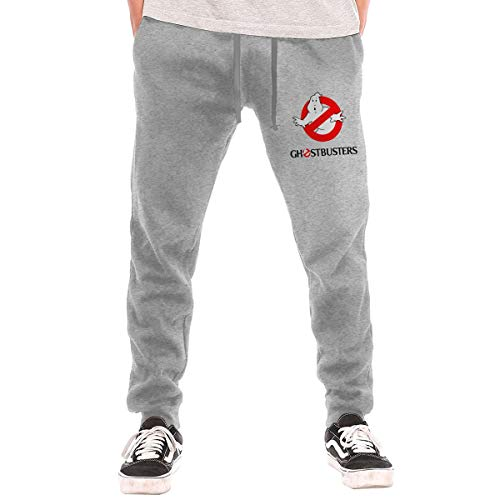 Cheny Men's Ghostbusters Active Basic Jogger Pants Sweatpants -