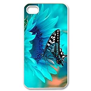 Butterfly DIY Cell Phone Case for iPhone 4,4S LMc-91279 at LaiMc