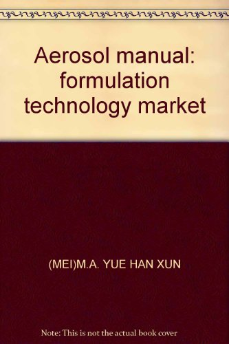 Aerosol manual: formulation technology market