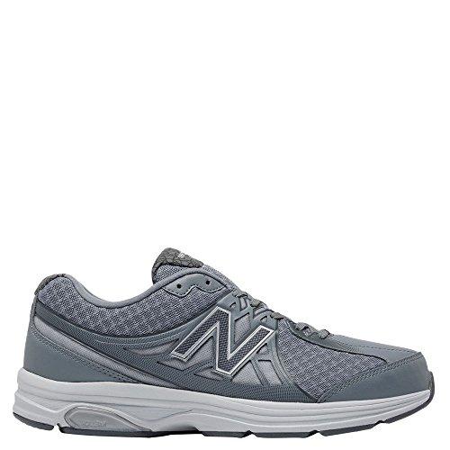 New Balance Men's 847v2 Walking Shoe,Grey/White,US 8 2A