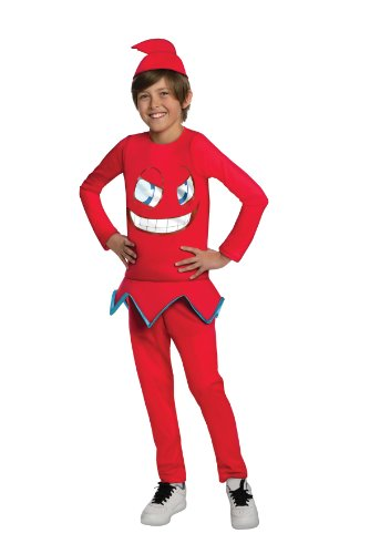 Pacman Blinky Costume (Pac-Man and The Ghostly Adventures Halloween Sensations Blinky Costume, Medium)