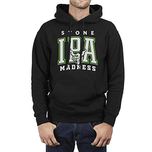 Unicorns Farting Long Sleeve Fleece Stone-IPA-Madness- Mens Pullover Hoodie Sweatshirt
