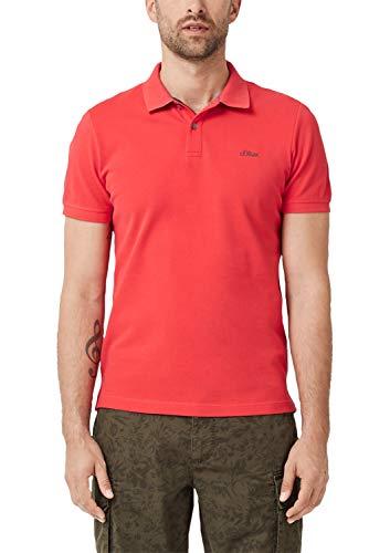 s.Oliver RED Label Herren Poloshirt mit Waffelpiqué-Struktur