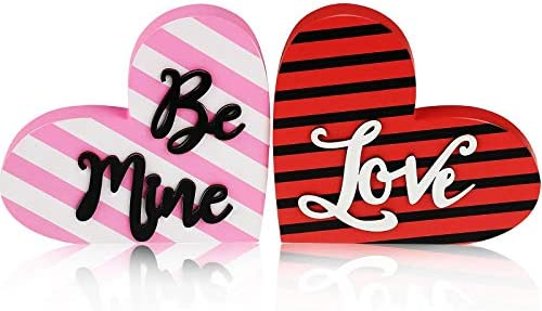 Kisses Love Be mine DesignsbyHWM Heart sign Valentine day Sign Hearts Pink love sign