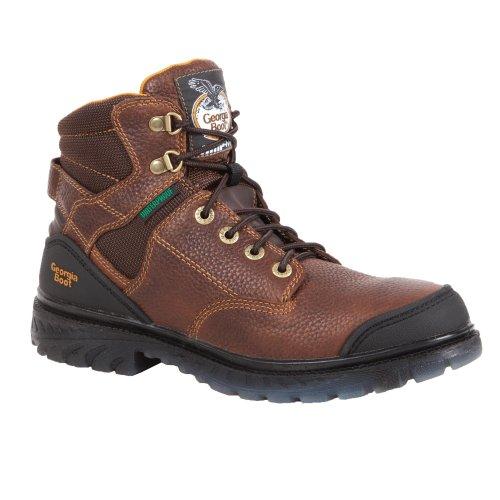 Georgia Men's Zero Drag-WProof Comfort Core Steel Toe Shoe-G086 - Toe Core Steel