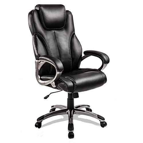 Merax High Back Executive Office Chair Black Ergonomic Compu