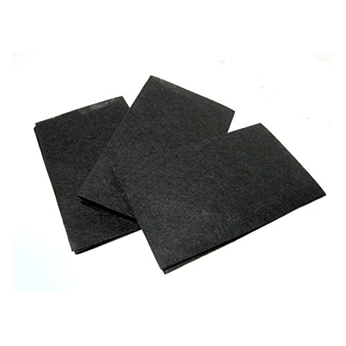 JBS 3p Non-toxic Charcoal Flame Retarding Range Hood Filter Replacement Universal 20
