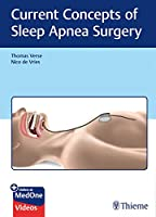 Current Concepts of Sleep Apnea Surgery Front Cover