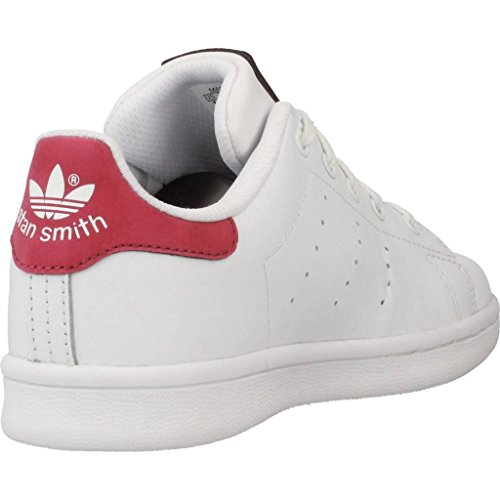 adidas Unisex-Kinder Stan Smith Gymnastikschuhe Elfenbein (Ftwr White/ftwr White/ftwr White)