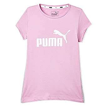 Puma Tape Tee G Orchid T-shirt For Women, 5-6 Years, Pink