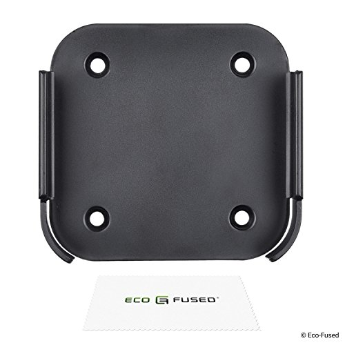 Eco-Fused Replacement Wall Mount Compatible with Apple Airport Express [2nd Generation] and Apple TV [2nd + 3rd Generation] - Holder Bracket Frame Easy to Install