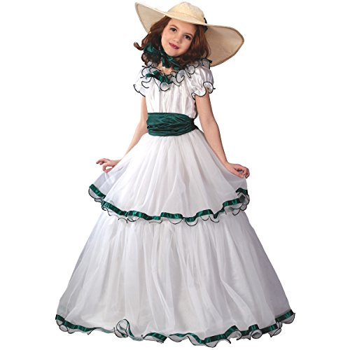 [Southern Belle Costume - Medium] (Southern Belle Child Halloween Costume)
