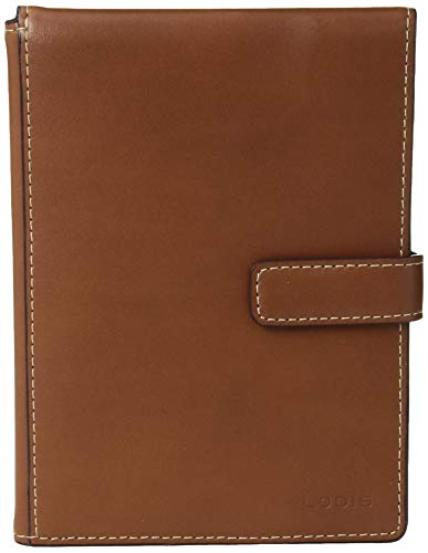41b3 i0VkmL - Lodis Audrey RFID Passport Wallet with Ticket Flap, sequoia/papaya