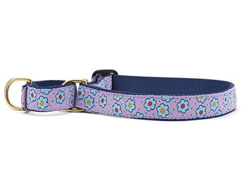 Up Country Flower Field Martingale Dog Collar by Up Country
