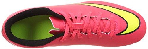 Nike  Mercurial Vortex II FG - Zapatillas de fútbol para Hombre Hyper Punch / Metallic Gold Coin / Black / Volt