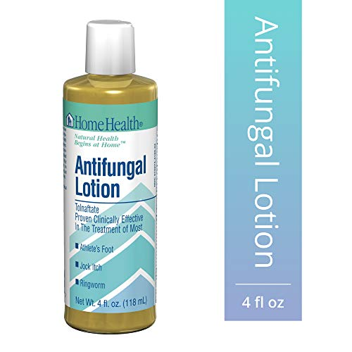 Cheap Home Health Antifungal Lotion - 1% Tolnaftate, 4 fl oz - Effective Relief from Itching, Burning  Cracking Associated with Athletes Foot, Jock Itch  Ringworm - Non-GMO, Paraben-Free, Vegetarian lotion for ringworm