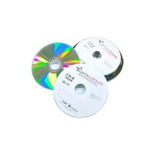 DataLocker EncryptDisc DLCD100 CD Recordable Media - CD-R - 700 MB - 100 Pack
