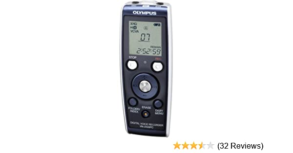amazon com olympus vn3100pc digital voice recorder electronics rh amazon com olympus voice recorder vn-3100pc manual olympus voice recorder vn-3100pc manual