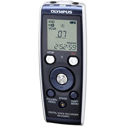 amazon com olympus vn3100pc digital voice recorder electronics rh amazon com Olympus Digital Voice Recorder digital voice recorder vn-3100pc manual español
