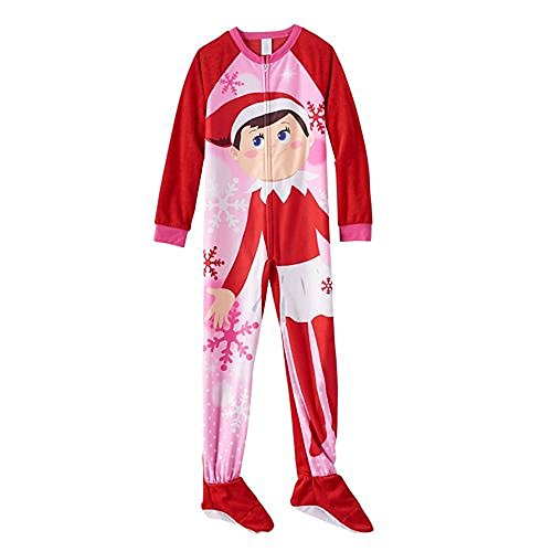 The Elf on the Shelf Footed Girls Pajamas