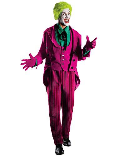 Rubie's Grand Heritage Joker Classic TV Batman Circa 1966, Multi-Colored, Standard -