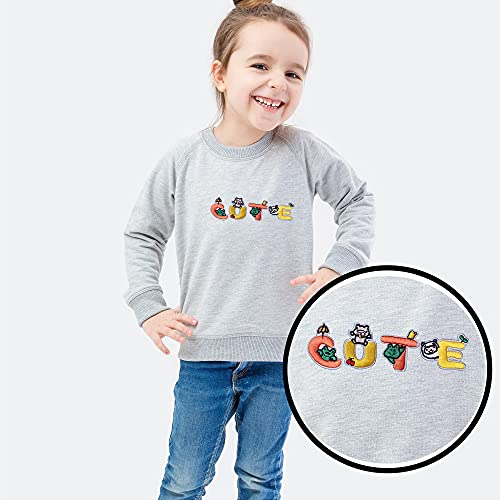 J.CARP 26Pcs Bunny Alphabet A to Z Patches, Iron on Sew on Letters for Clothing, Hats, Shoes, Backpacks, Handbags, Jeans, Jackets etc.