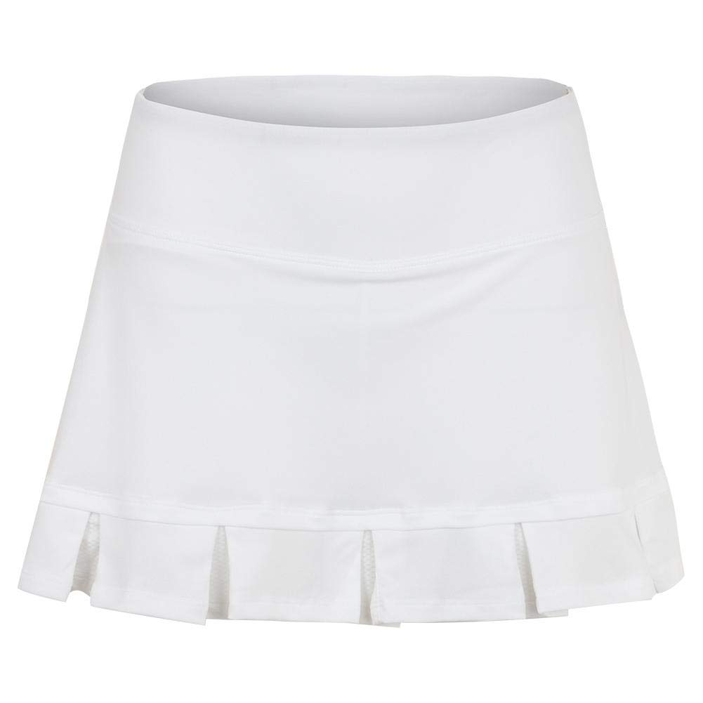 Fila Women`s 14.5 Inch Tennis Skort White (Large White)
