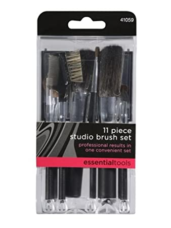 Amazon.com: Essential Tools 11 Piece Studio Brush Set, 8.73 Ounce ...