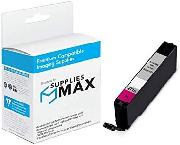 SuppliesMAX Compatible Replacement for CIG118128 Magenta High Yield Inkjet Equivalent to Canon CLI-271XLM 715 Page Yield 0338C001