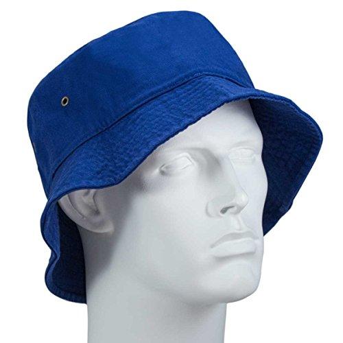 Bandana.com Royal Blue Bucket Hat - Single Piece - LXL