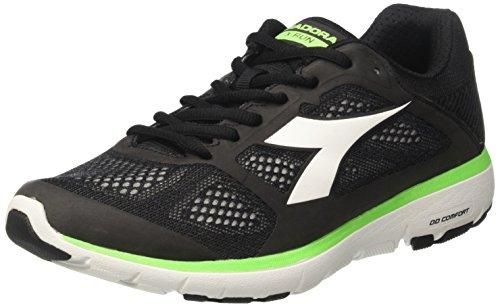 Zapatos Mujer Para Run Negro Jet Diadora nero bianco X Correr XxqEwZa