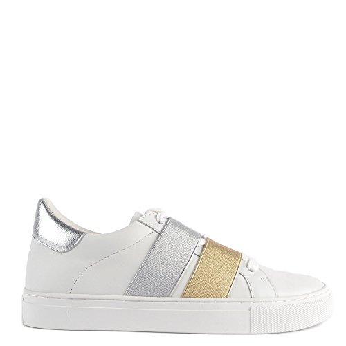 Elia Sassy Mujer Blanco Zapatillas B Zapatos wwqgB