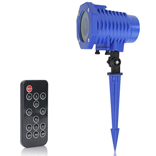 LED Projector Lights, Kids Party Light Projector with Remote Control Waterproof Decorative Outdoor Indoor Lighting for Birthday, Party, Yard, Garden -