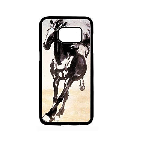 - Babu Building Great Kid Have Asian Horse Artists Hard Rigid Plastic Shells for Samsung S8 P