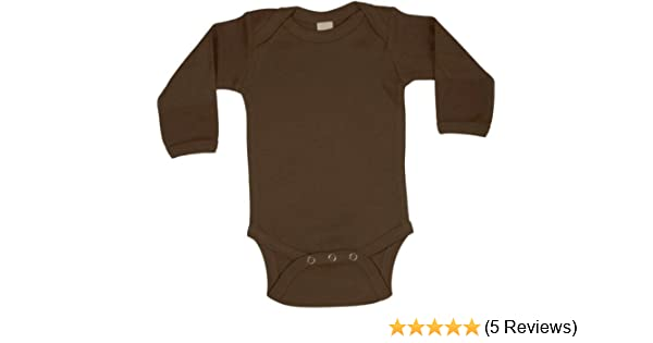 72517e10a Amazon.com  Chocolate Baby Onesie - Long Sleeve  Infant And Toddler ...