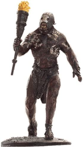 Lord Of The Rings Statue von Blei Collection N/º 35 Berserker Uruk-Hai at Helm/'s Deep