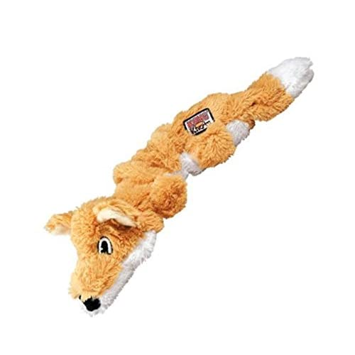 KONG Scrunch Knots Fox Dog Toy, Small/Medium