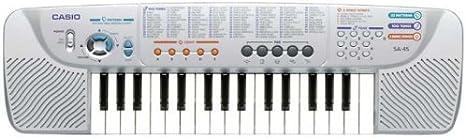 Casio SA-45H5 32 teclas Mini teclado: Amazon.es: Instrumentos ...
