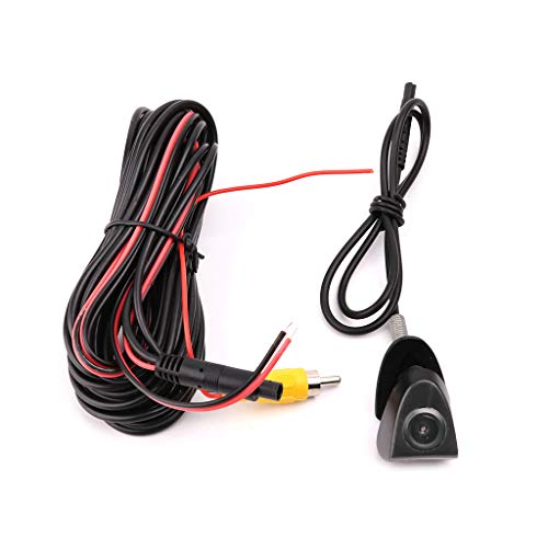 View Camera Car, NAOTAI 12V PZ400-FT Waterproof CCD Car Front View Camera Highlander Land Camry Logo Parking System For…