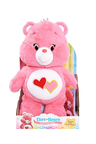 [Just Play Care Bears Love-A-Lot Medium Plush with DVD] (Care Bear Plush)