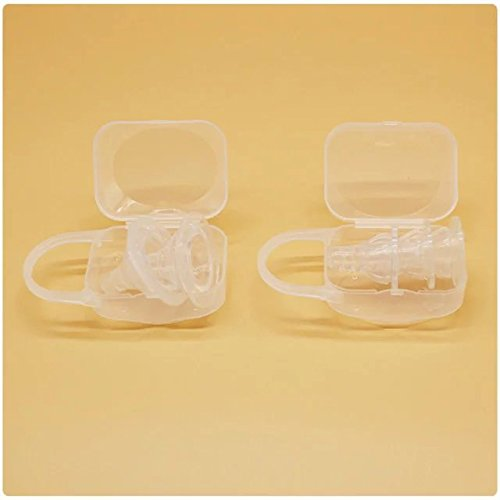 Sealive Baby Pacifier Storage Box Baby Supplies Dustproof and Dirty Nipple Storage Box PP Material 3pcs by Sealive (Image #9)