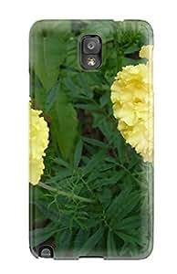 [zctzSrZ3764nTOva]premium Phone Case For Galaxy Note 3/ Yellow Flowers Tpu Case Cover