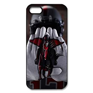 WY-Supplier New Design NCAA Texas Tech Red Raiders logo Cases Cover for Apple iphone 5/5s NCAA Apple iphone 5/5s Slim-fit Cover phone case vazza