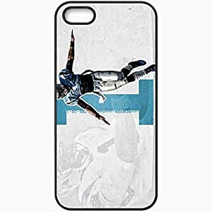 fashion case Diy Yourself Personalized iphone 4s cell phone case cover/Cover Skin 14s278 c8XuuNTKMrP panthers wp 27 sm Black