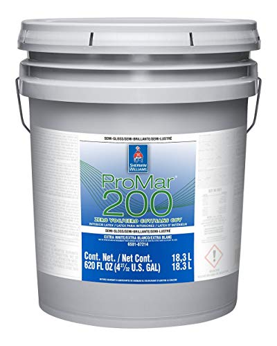Sherwin Williams ProMar 200 Semi-Gloss Silvery Gray...