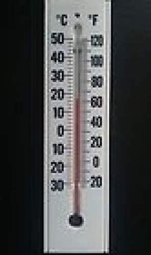 INDOOR CELSIUS AND FARENHEIGHT. OUTDOOR THERMOMETER LARGE EASY TO SEE DIGITS