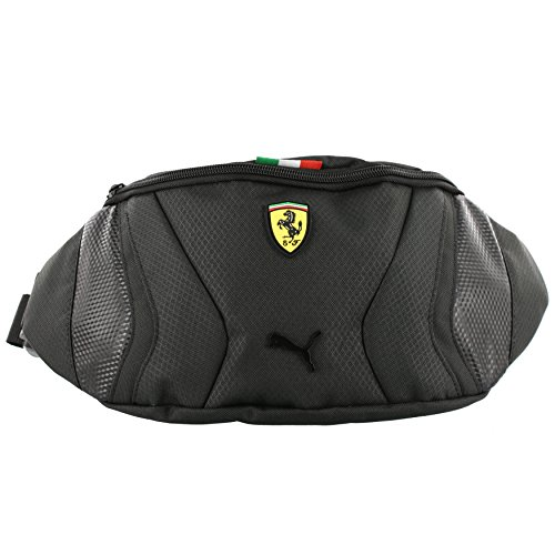 39cf356f39 PUMA Men's Ferrari Replica Waist Bag 73176,Black,US - Import It All