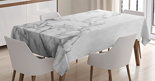 Apartment Decor Tablecloth by Ambesonne, Old Fashion Grungy