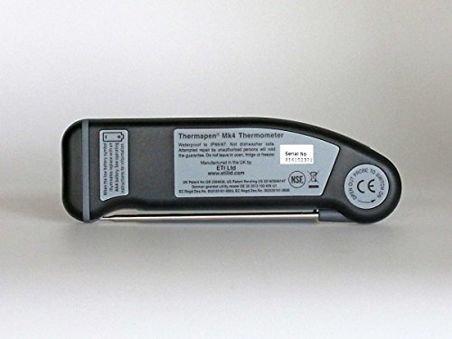 ETI 234-477 Thermapen Professional Patented Automatic 360/° Rotational Display Black