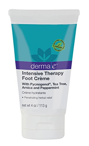 Derma E Intensive Therapy Foot Creme Pain Relief and Circulatory Support, 4 Ounce (Foot Creme)
